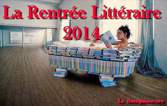 La Rentrée Littéraire 2014