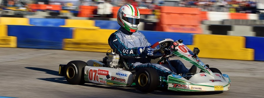 Tazio Wins again in National WKA competition