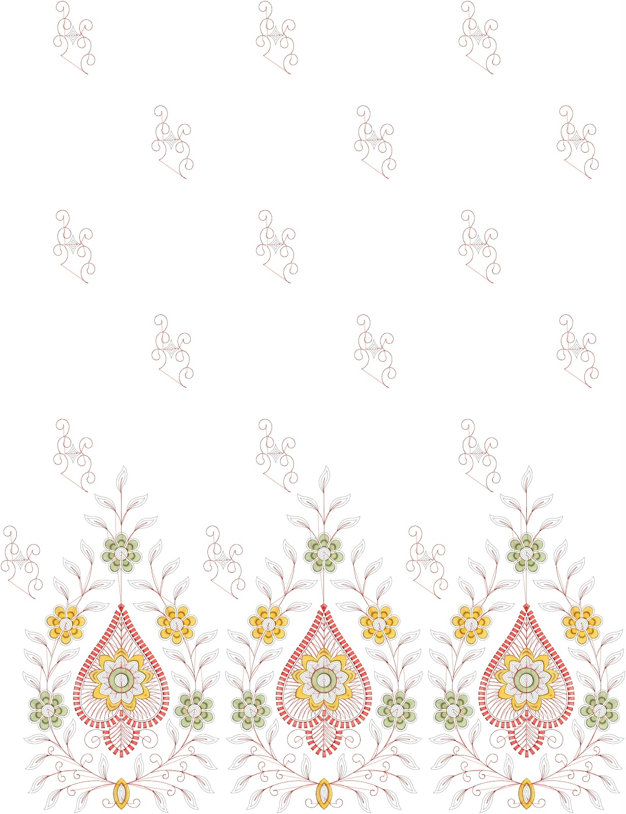 Embdesigntube punjabi suit embroidery designs