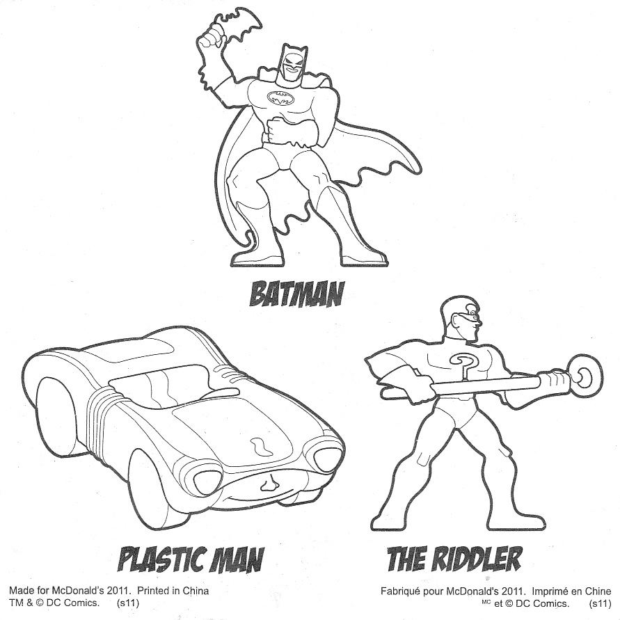 econtampan McDonalds 2011 Batman The Brave and The Bold 4