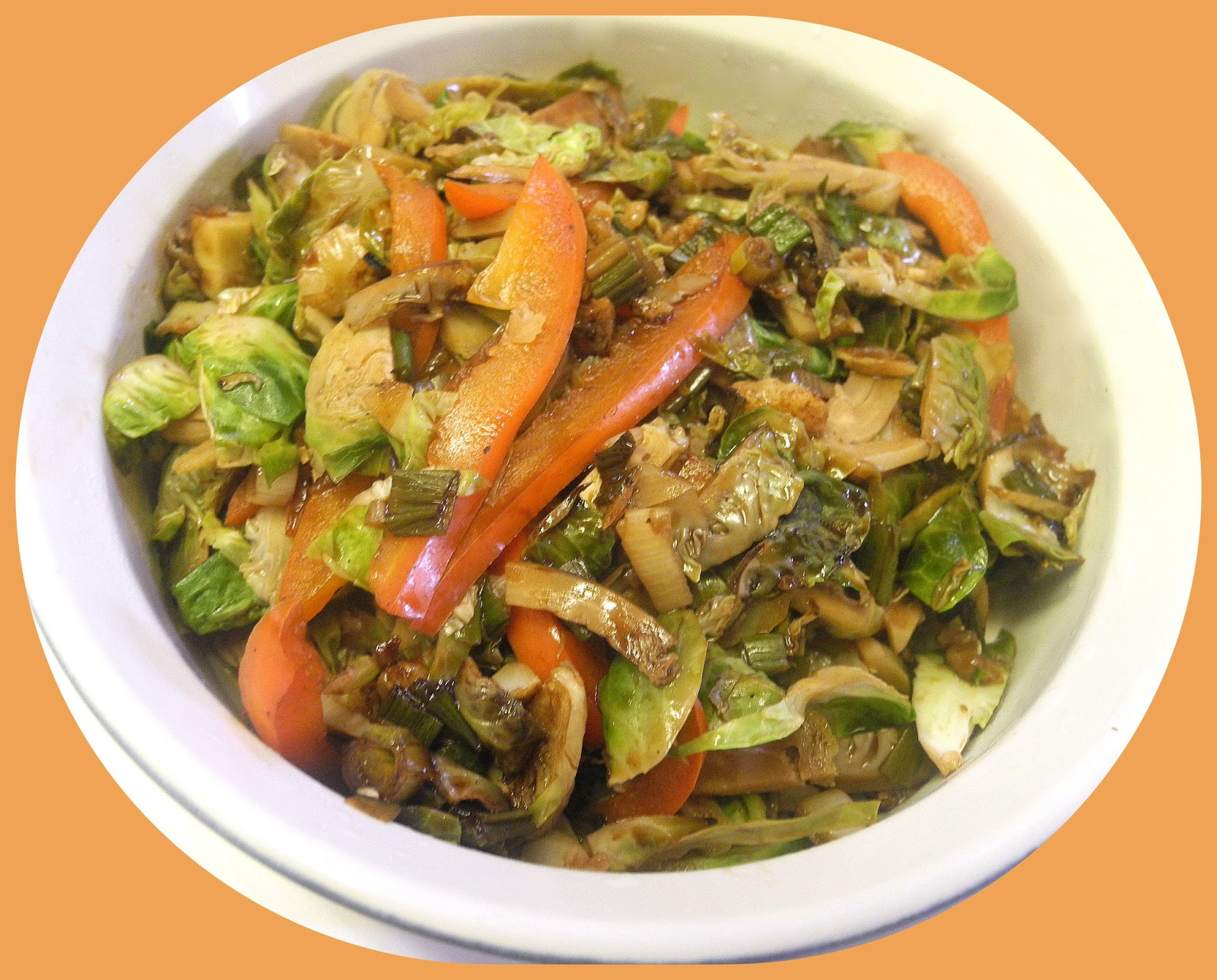 BIZZY BAKES: Shredded Brussels Sprouts