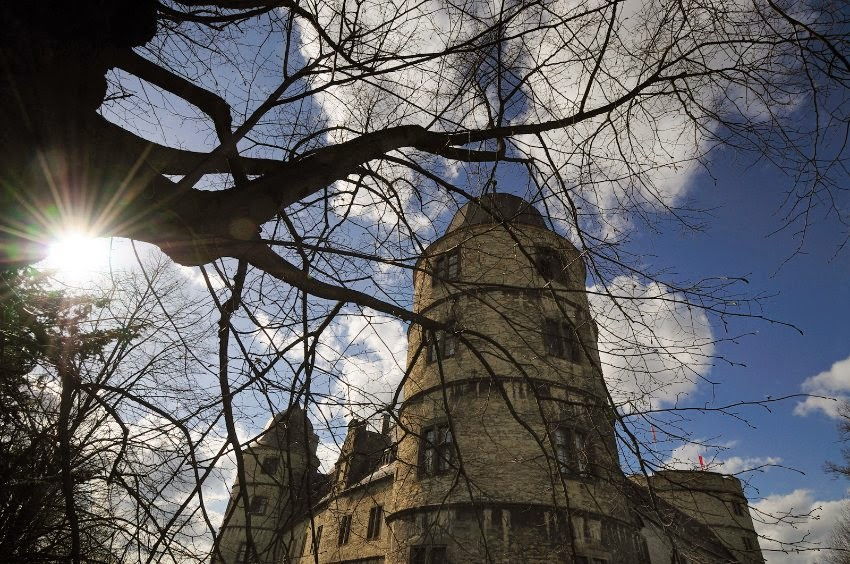 The Wewelsburg Castle that, based on an old Westphalian legend, was destined by the Nazis to become a magical German strongpoint in a future conflict between Europe and Asia