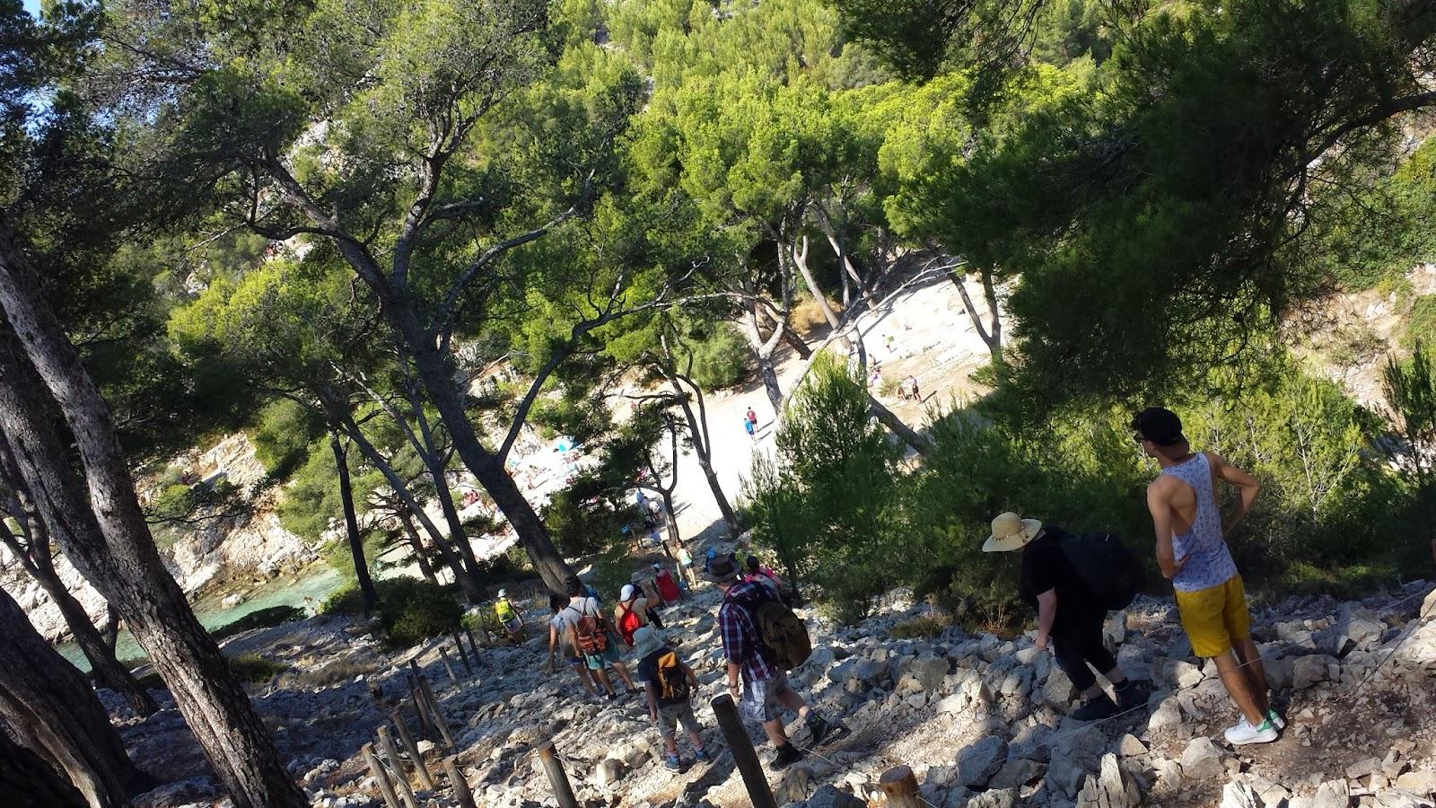 Chemin des Calanques de Cassis