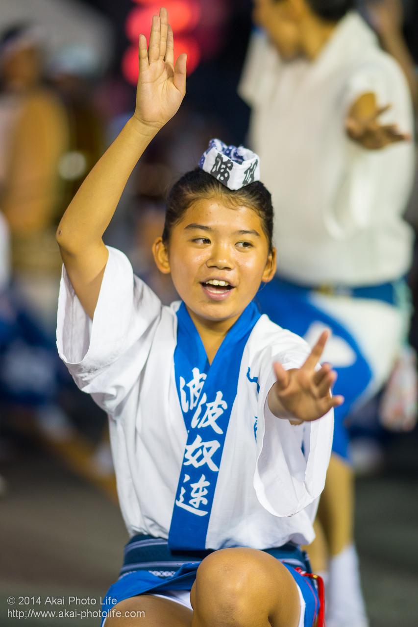 波奴連 子供の踊り手