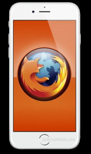 Mozilla Firefox untuk iOS 8 iPhone iPad