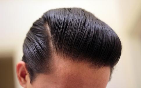 Hasil Pemakaian Minyak Rambut Pomade Slick Devil Hitam