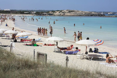 Ses Illetes Beach in Formentera
