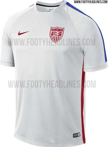 Conocé las camisetas de entrenamiento y pre partido Nike de la Selección de Estados Unidos