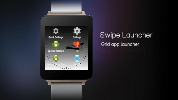 Swipe launcher