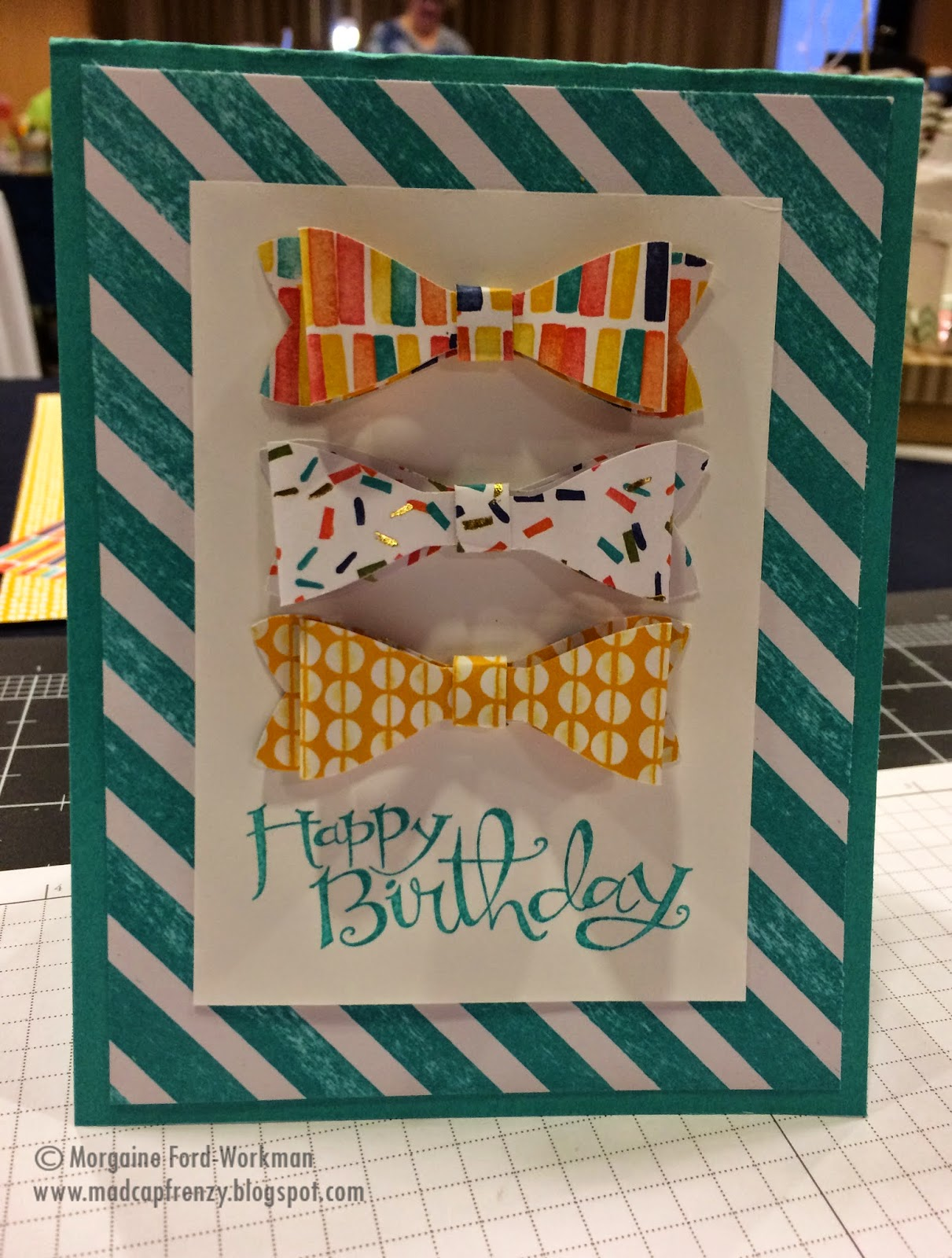 Madcap Frenzy Stampin Up! Birthday papercrafts