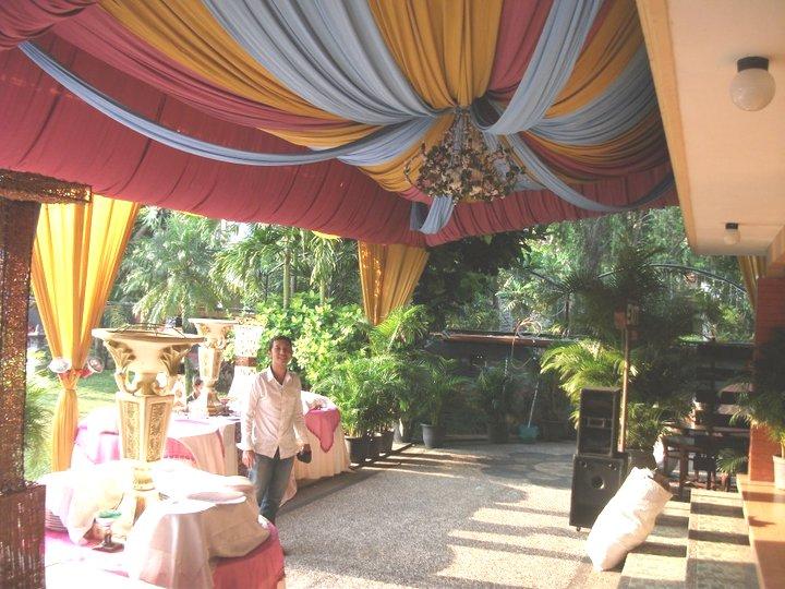 Dekorasi di Pemata Jingga Club House Malang