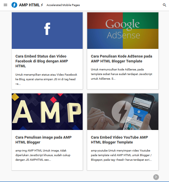 Amp Html Templates 4 AMP HTML Blogger Template - FREE DOWNLOAD - UC Templates
