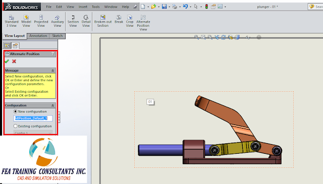 alternate position view in solidworks drawings