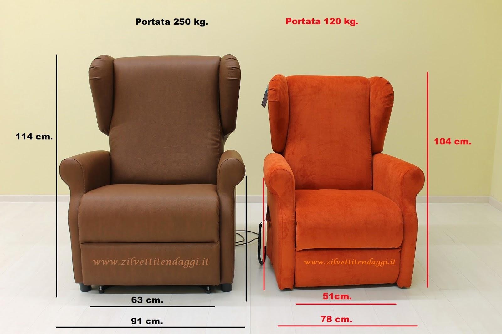 Prezzi e offerte poltrone elettriche per anziani e disabili: Poltrona relax 2...