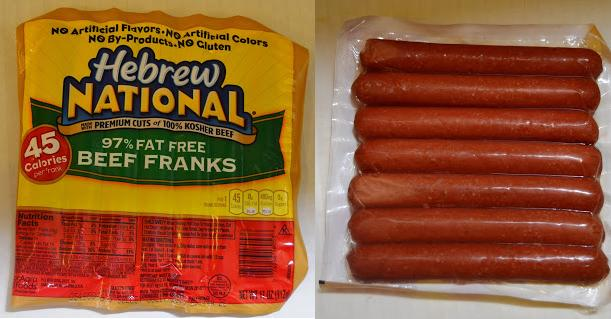 Hebrew National Hot Dogs  Fat Free Ingredients