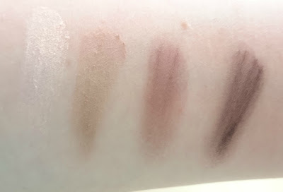 Tanya Burr Perfect Brows Palette swatch