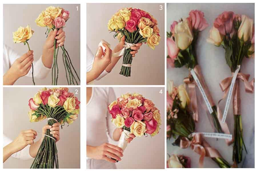 Arte Casamento E A Noiva Vai Jogar O Bouquet