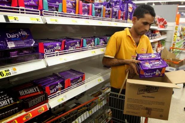 Produk Coklat Cadbury Mungkin Tercemar