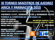 XI Torneo de Maestros Ajedrez Arica 2015