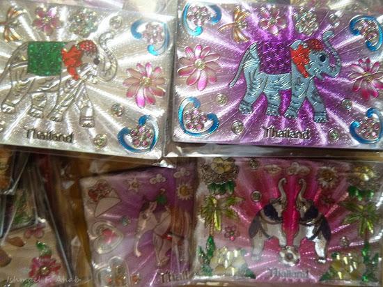 Thailand souvenir - elephant ref magnets