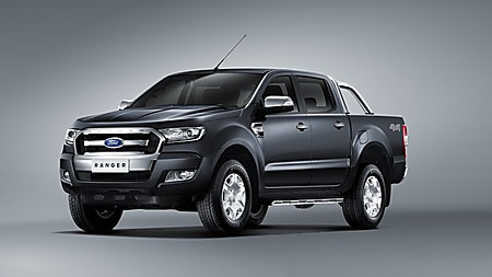 BANGKOK Thailand 17 July 2015 Ford Today Launched Its New Tougher Smarter And More Efficient Ranger Pickup Truck With Customer Bookings