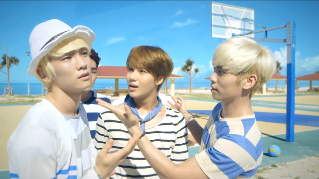 screencap 3 shinee boys meet u pv