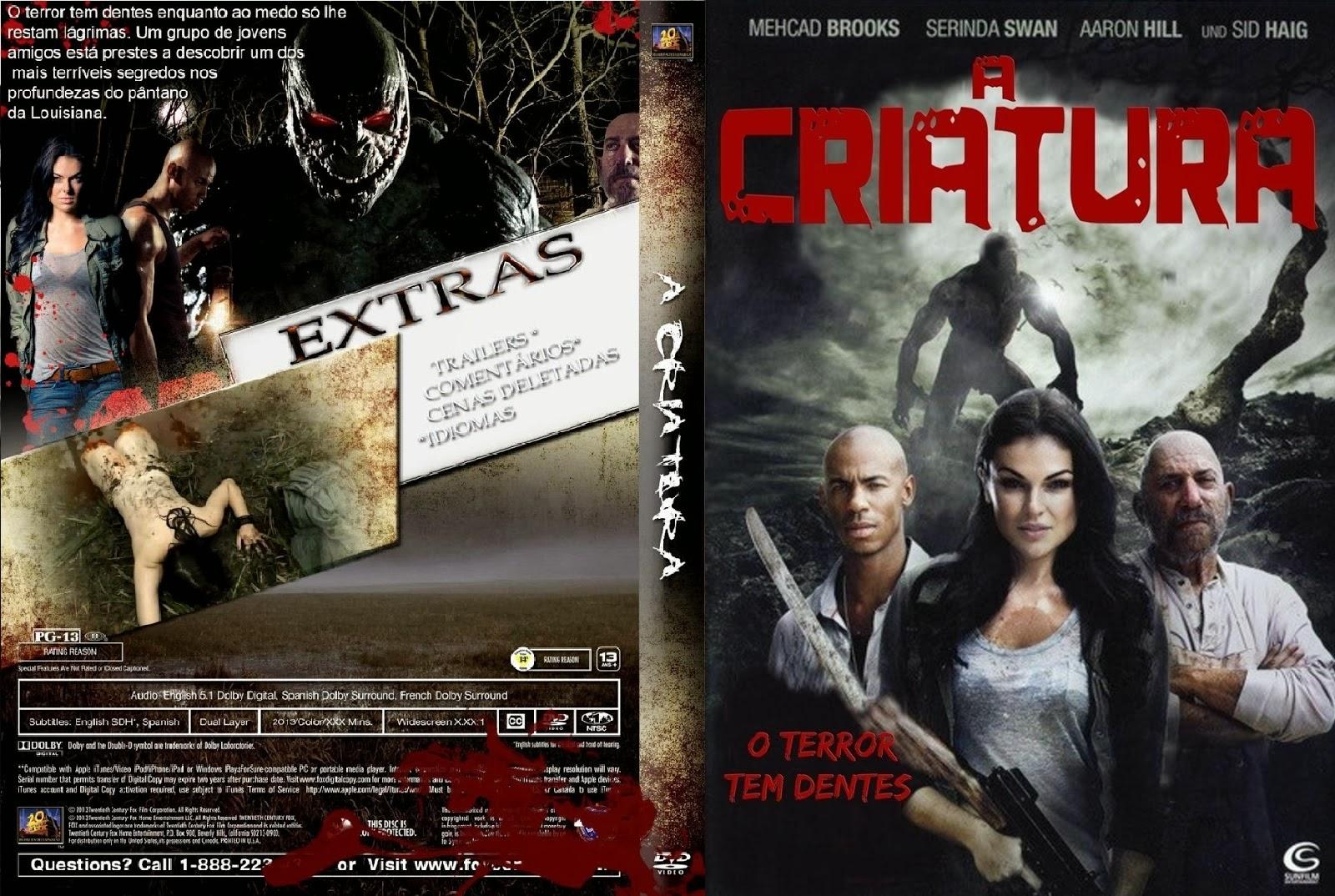 A Criatura DVD Capa