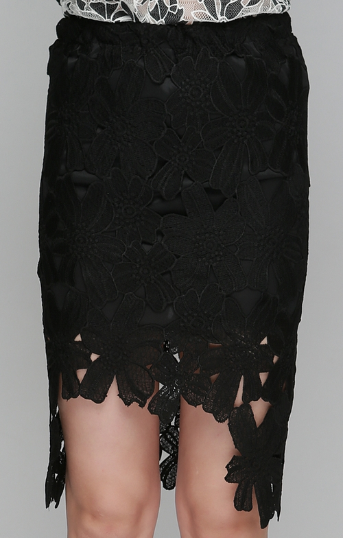 Petal Applique Muse Skirt