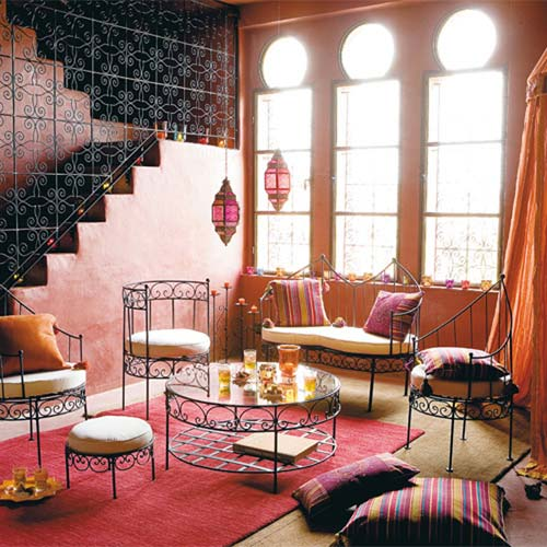 Delightfully chic i spy moroccan decor for Moroccan interior designs