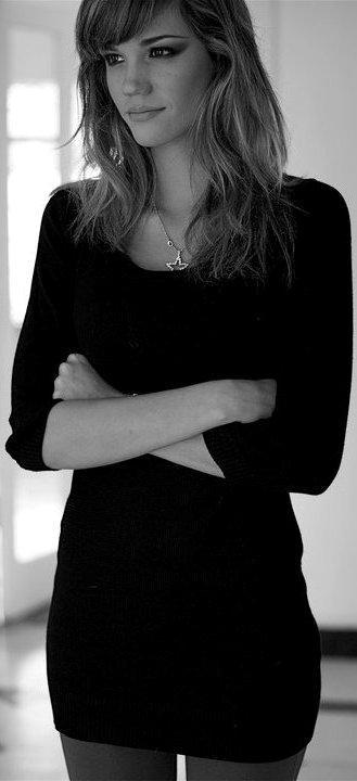 Foto de Giselle Patrón en grises