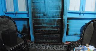 Incendian oficinas del Grupo de Comunicaciones EMSA, S. A. del comunicador Néstor De Jesús Laurens