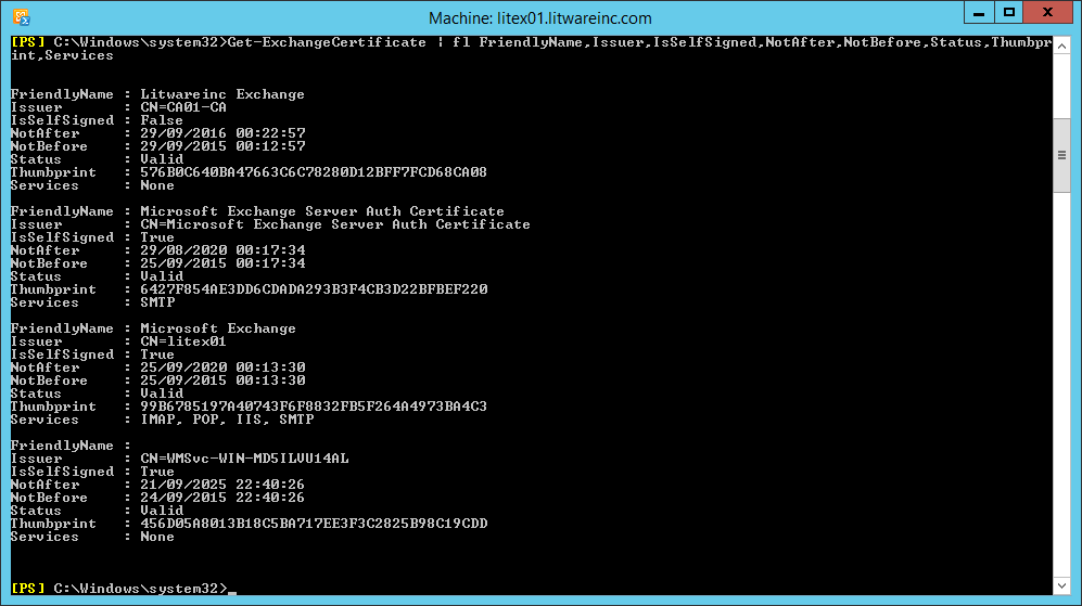 Technical Deep Dive Exchange 2013 Install Certificate Part 2