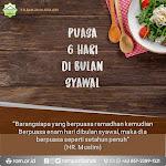 Poster Nasihat: Puasa 6 Hari di Bulan Syawal