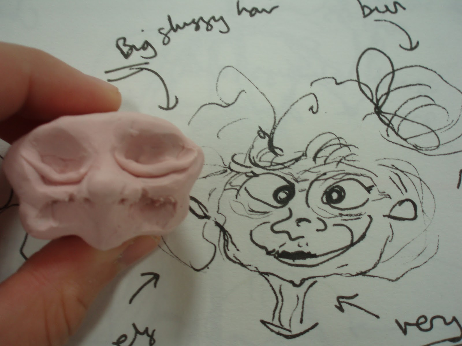 Character Design Ebook : Poppy rand illustration rough plasticine character design