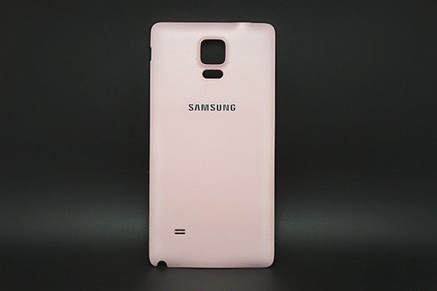 ฝาหลัง Note 4 พร้อมส่ง 129020 สีชมพู