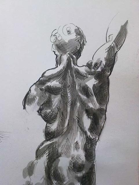 desnudo de un miguel angel