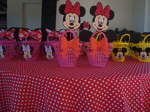 Encantado Decoração festa Minie
