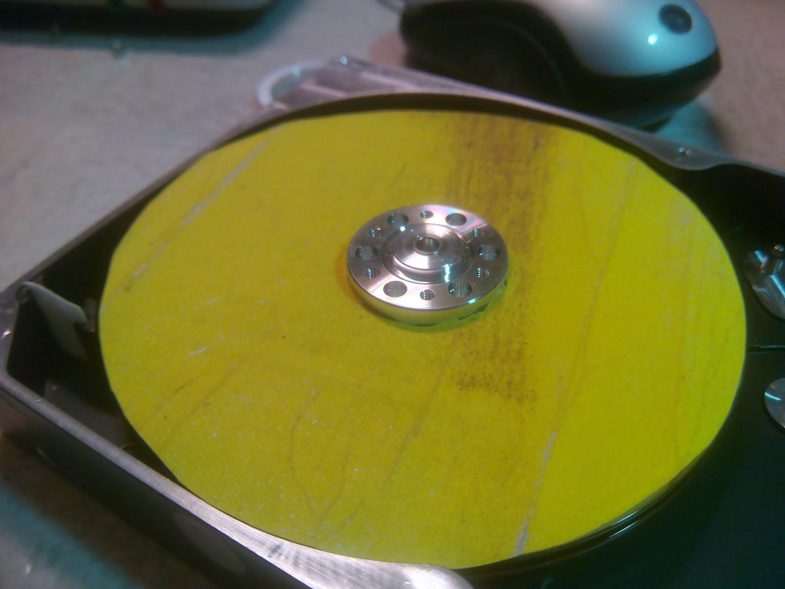Pilotare motore hard disk