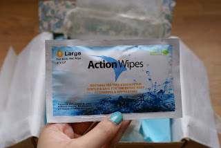 Yuzen Summer 2013 action wipes