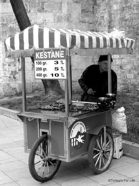 Chestnuts, Kestane, Istanbul