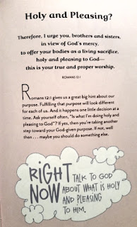 The Plans I Have For You Devotional sample page 1