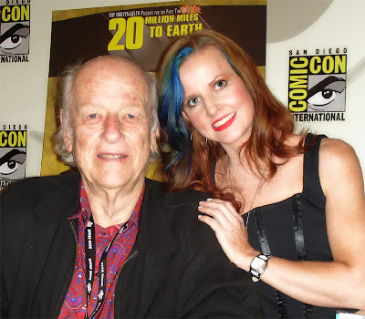 Ray Harryhausen and Staci Layne Wilson