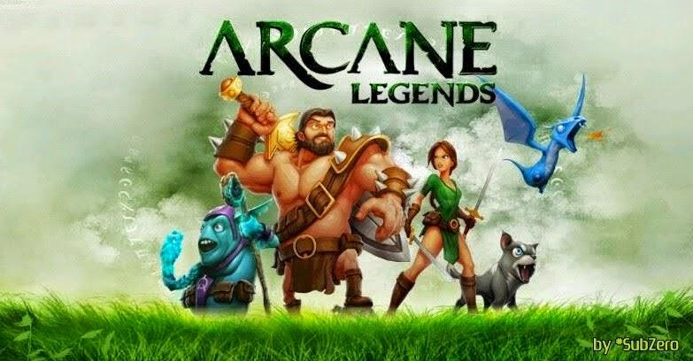 Download Game Arcane Legends v1.1.0.1 Full Apk Android