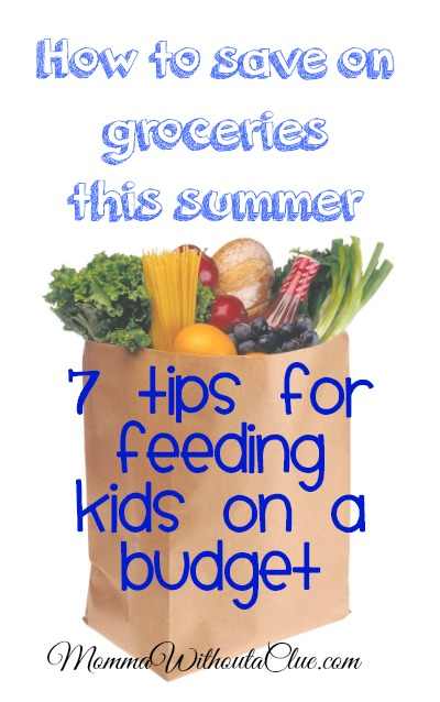 7 Tips for Feeding Kids on a Budget