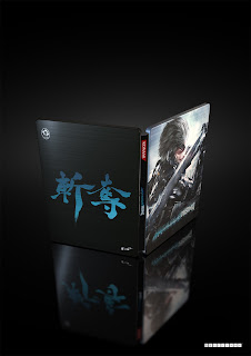 european metal gear rising revengeance limited edition raiden render steelbook cover Europe   Metal Gear Rising: Revengeance   Limited Edition Details, Pre Order Details, & Images