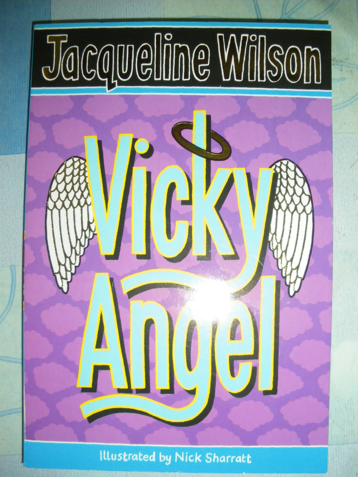 vicky angel book report In which a purple haired girl finds out the truth about herself or in which an angel falls for a vampire ••• girlxgirl twilight book 1 in the angel series boo.