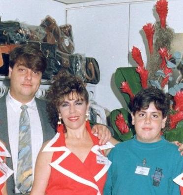 Loly Señaris Calviño, Isidro José y Alexander Montoto Señaris.