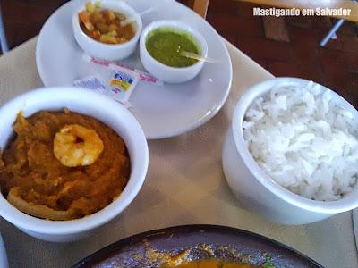 Sal Marinho Restaurant'Bar: Acompanhamentos (Pirão e Arroz Branco)