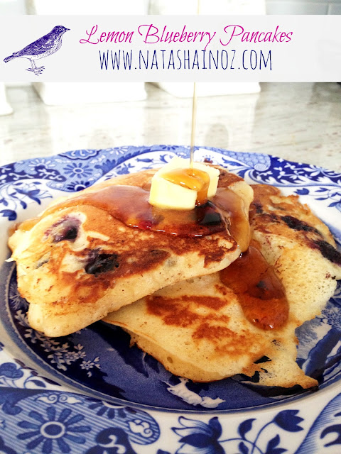 Pioneer Woman Lemon Blueberry Pancakes