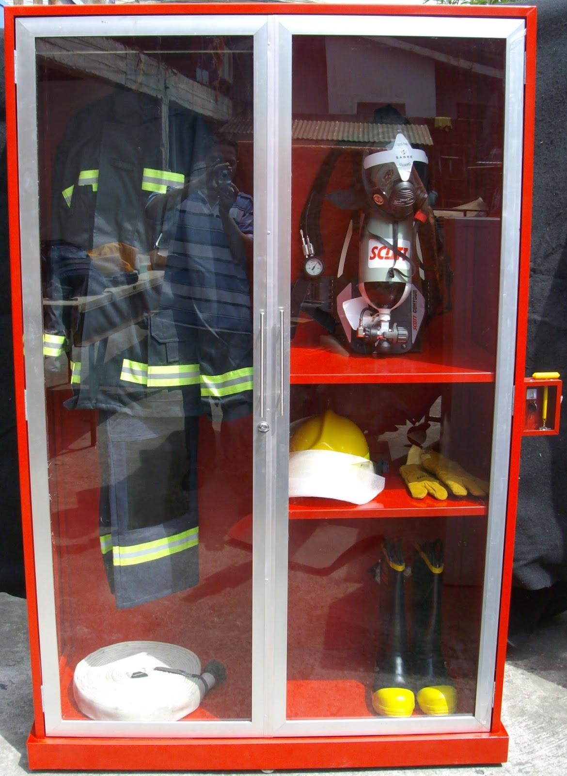 Fire Equipment Cabinet Fire Cabinet Lemari Safety Setia Kawan Teknik
